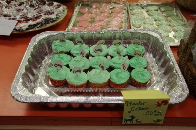 Tyler's cupcakes.