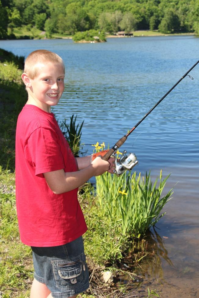 Rusty fishing..
