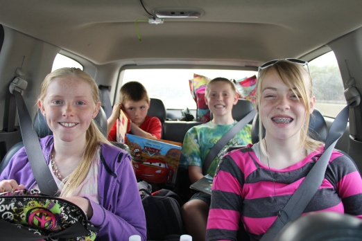 On the road to Kahahari!