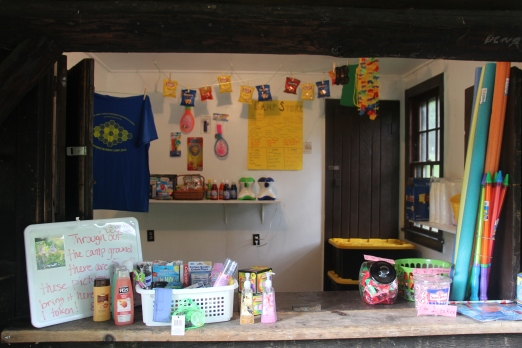 Our camp store.