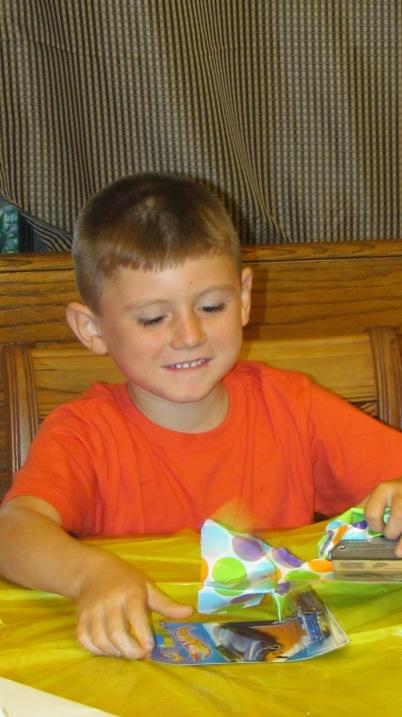 Tyler's 6th birthday