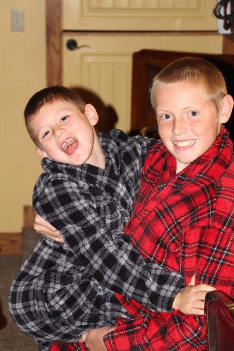 My cute boys!