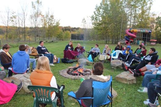 Fireside devotional