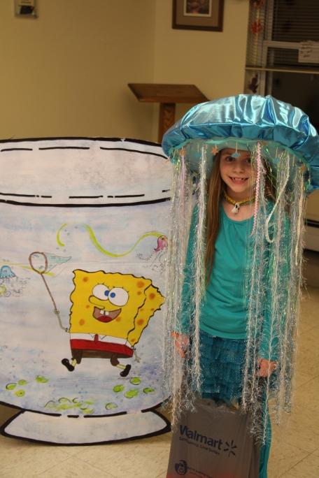 A Sponge Bob box