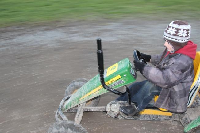 """Go Speed Racer!"""