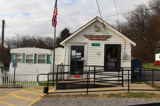 The mini post office!