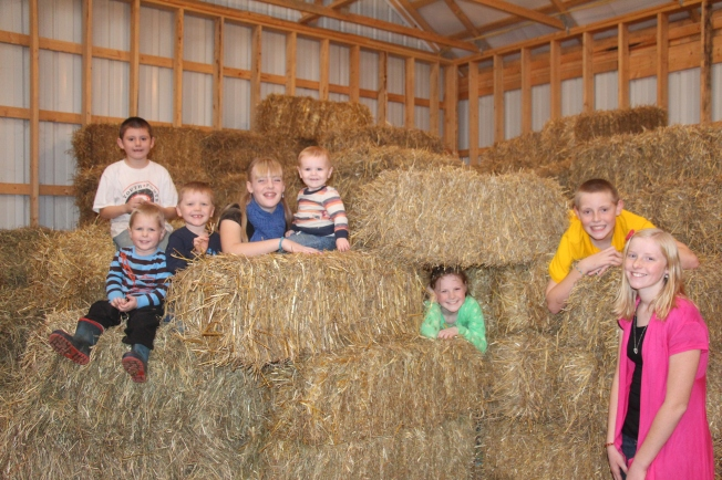 These kids act like they were raised in a barn!