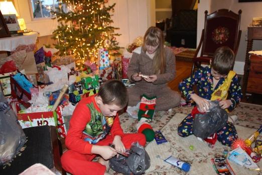 After the kids entered...