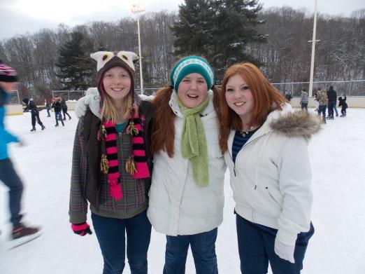 Molly, Tatum and Olivia