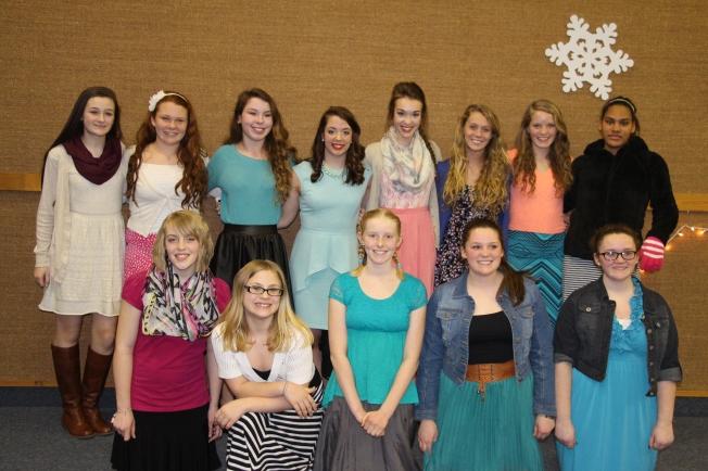 Our beautiful young women!