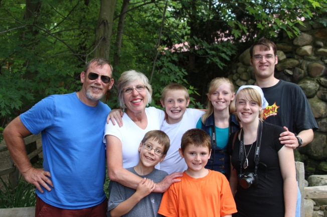 A fun day with family!