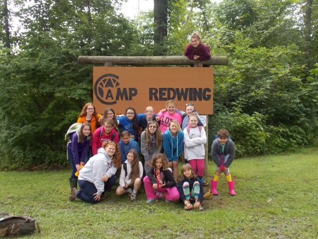 """Molly and the other """"Iron Chef"""" campers."""