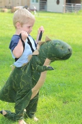 Sammy the dinosaur