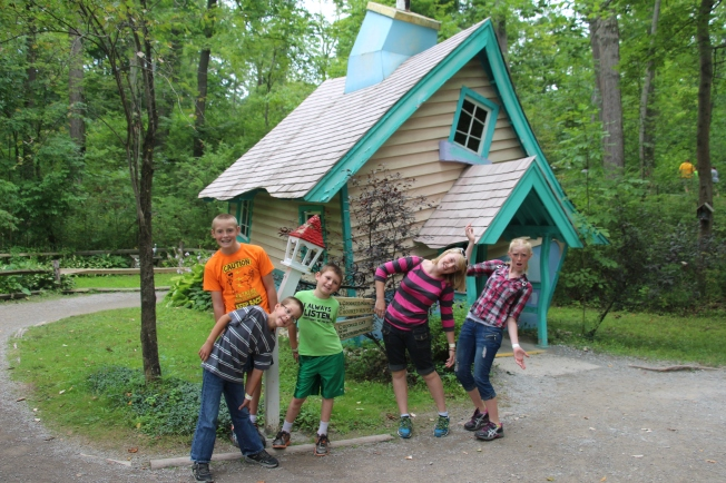 ...and they all lived together in a little crooked house.