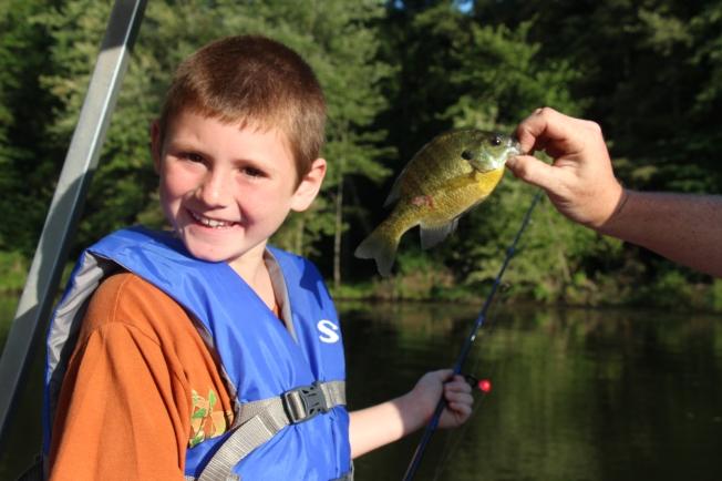 Tyler fishing