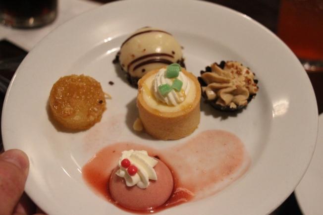Boma desserts...yum!