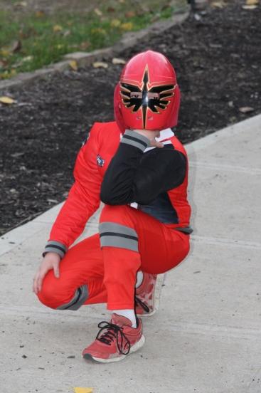 Tyler, my little Power Ranger :)
