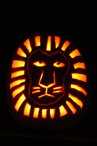 Gracie's pumpkin