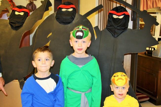 The Nelson Ninjas!