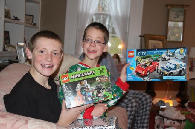 The Lego boys.