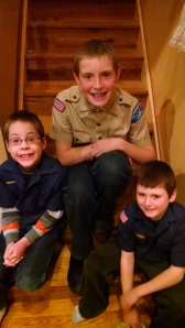 My three scouts...