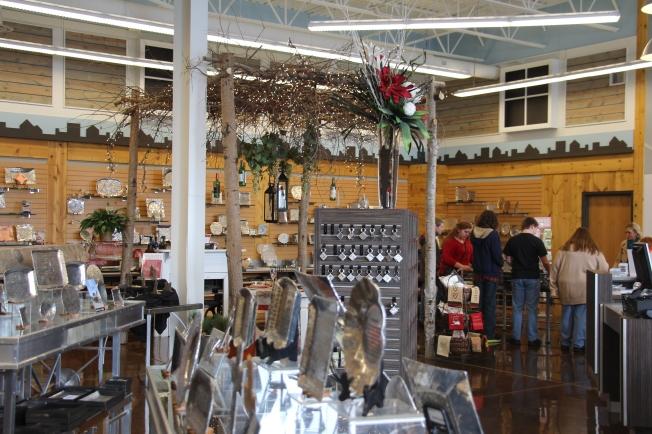 The beautiful shop...