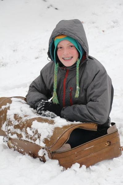 Rusty's redneck sled!