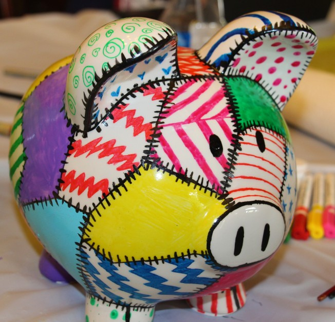 Molly's patchwork pig