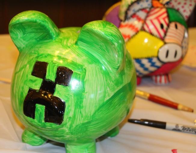 Rusty's Minecraft pig