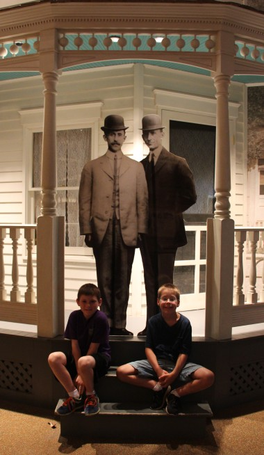 The Wright brothers and the McCleery brothers...