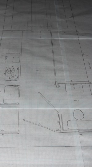 Sketching blueprints..
