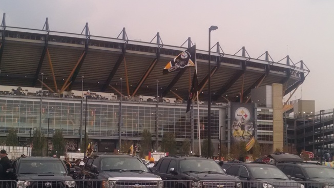 Walking into Heinz Field