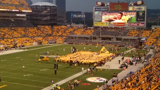 A REALLY big terrible towel.