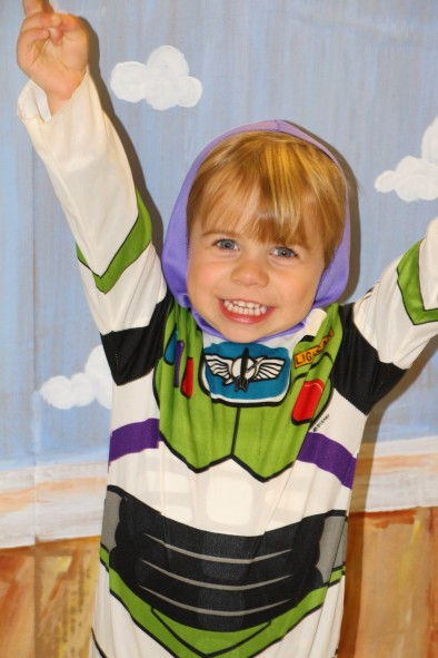 Another Toy Story box with a really cute Buzz Lightyear!