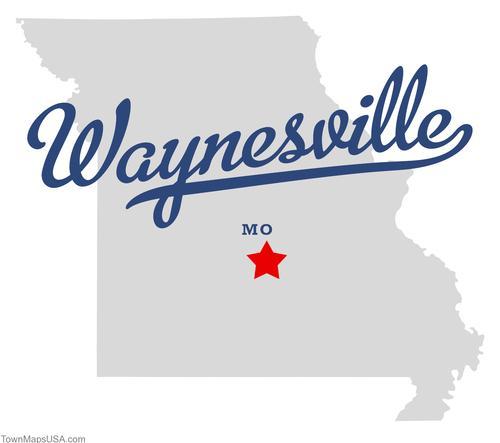 map_of_waynesville_mo