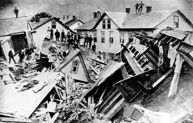 U.S. FLOODS 1889 JOHNSTOWN