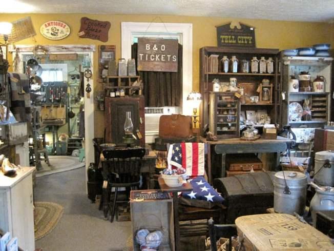just enough antiques