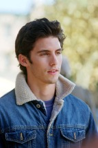 GILMORE GIRLS (Season 2) The Inns & Outs of Inns (Episode #227478) WBTV Roll 1, Frame 5A/6 Pictured: Milo Ventimiglia as Jess Photo Credit: © The WB / Ron Tom