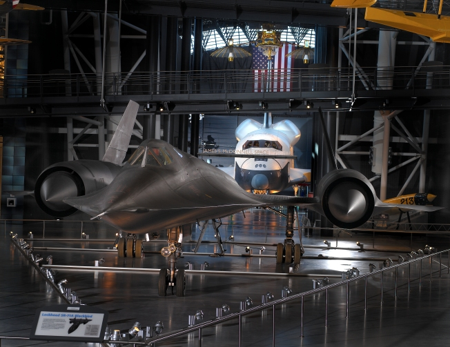 SR-71 and Space Shuttle Enterprise